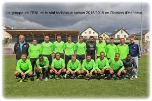 L'équipe 1 de l'ENL